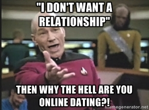 I dont want a relationship